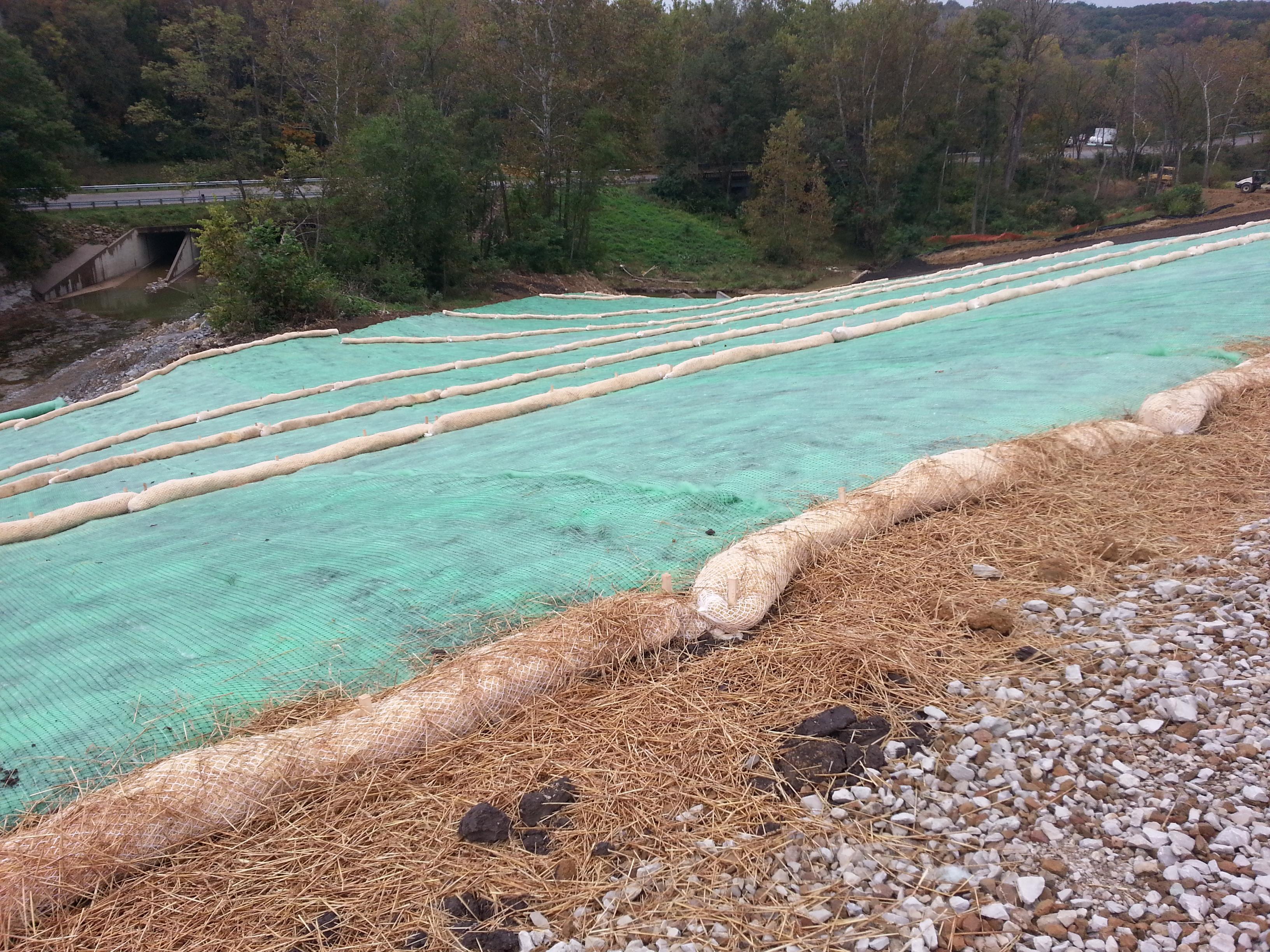 Erosion Control Delong Construction Inc Earth Movers